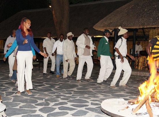 Camp Okavango: Entertainment from the staff