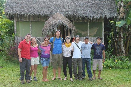 San Pedro Lodge E.I.R.L.: Nuevos amigos!
