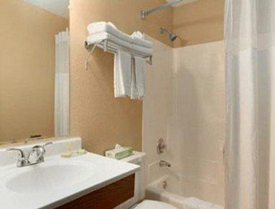 Super 8 Sioux Falls: Bathroom