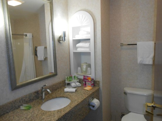 Holiday Inn Express Grove City-Prime Outlet Mall: Washroom