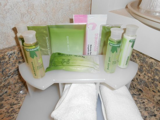 Holiday Inn Express Grove City-Prime Outlet Mall: Bath and Body Works products and more