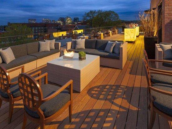 Rosewood Washington, D.C.: Rooftop Lounge