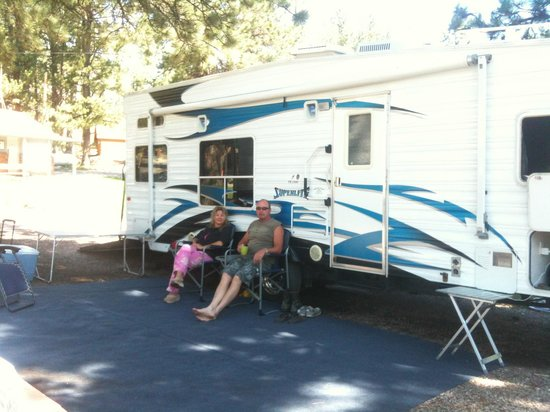 Horse Thief Campground and RV Resort: Wasn't in any hurry to go any where