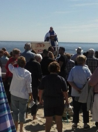 Jenkinson's Boardwalk : Mass on the beach to Bless the Waters