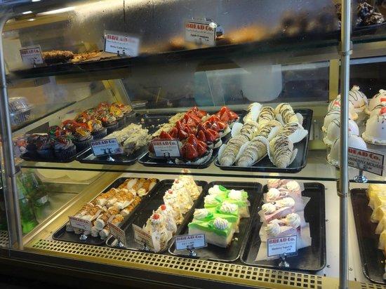 The Bread Company: deserts