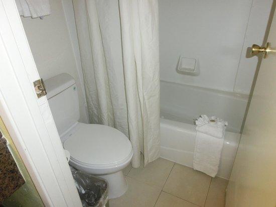 Anaheim Del Sol Inn: バスルーム