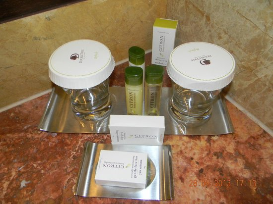 Doubletree by Hilton Avanos Cappadocia : Toiletries