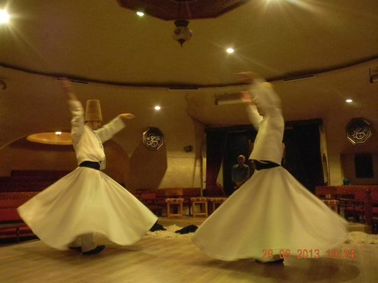 Doubletree by Hilton Avanos Cappadocia: Whirling Dervishes