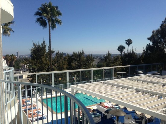 The Standard, Hollywood: View from room