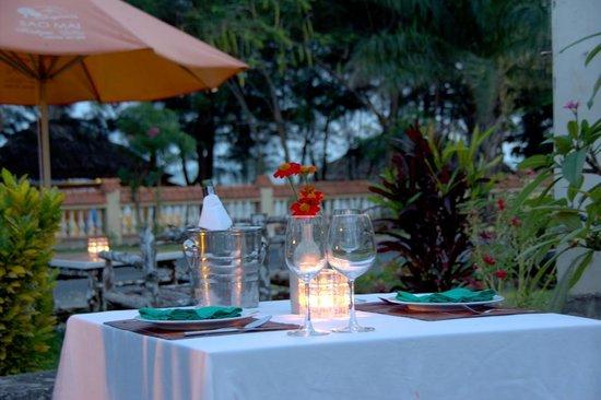 Sao Mai Boutique Villas: Dinner