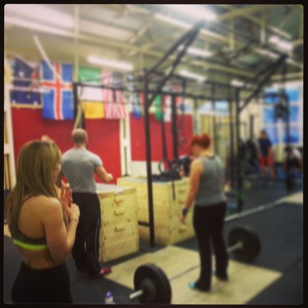 White Cliffs Cross Fit: expert coaching in every session.