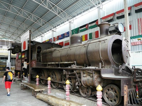 The railway engine - Picture of JEATH War Museum ...