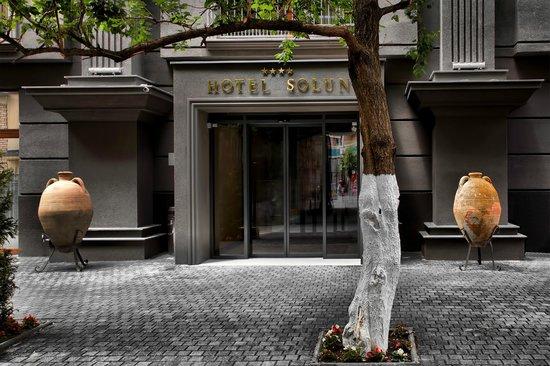Solun Hotel & SPA: Entrance
