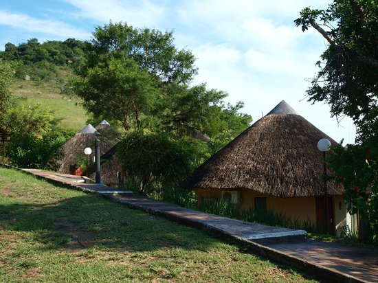 Maguga Lodge: En rad bungalows