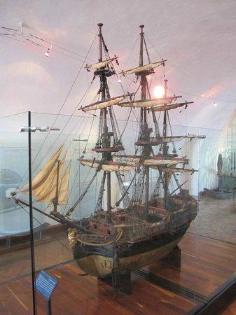 Acapulco Historical Museum: Макет кораблика