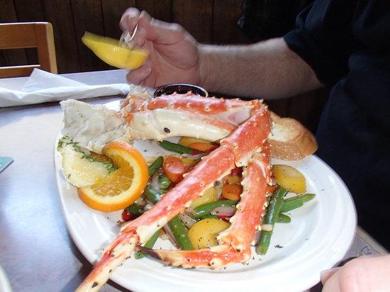 Skagway Fish Co.: King Crab Legs!!!!!