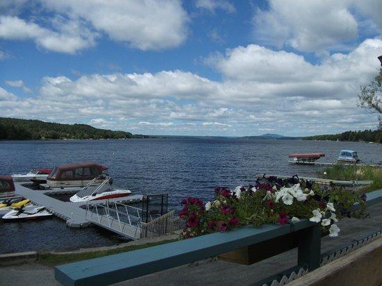 Saint-Romain, Kanada: vue derrière le motel