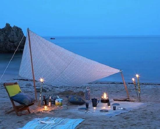 HOMEnFUN Formentera Suites: campamento