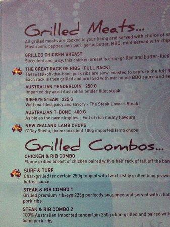 Bondi Aussie Bar & Grill Lamai: G'Day Sheilas!