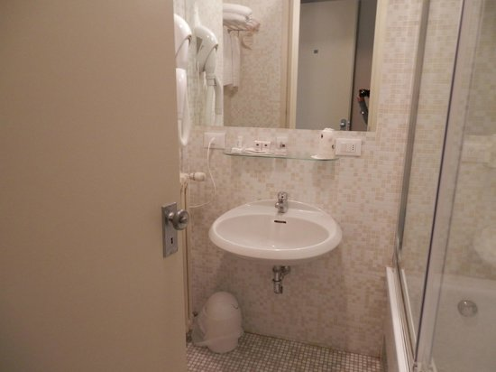 Best Western Hotel Continental: bagno