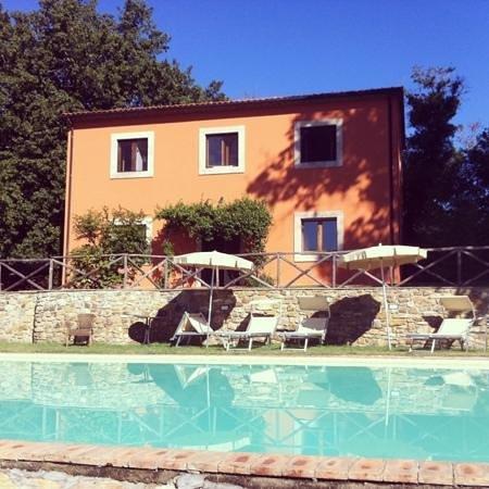 Relais Ciavatta: la zona piscina