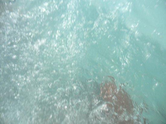 Hotel Puerto Palace: Agua limpia del jakuzzi