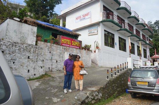 Sumit Hotel Kausani: Hotel Sumit