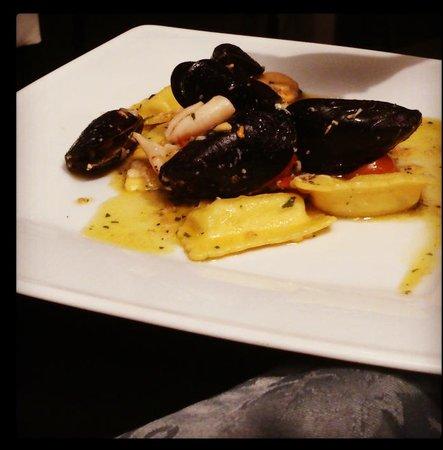 Tirreno 231: ravioli di cernia ai frutti di mare