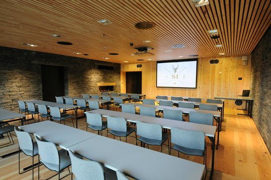 Large conference room for 48 people.