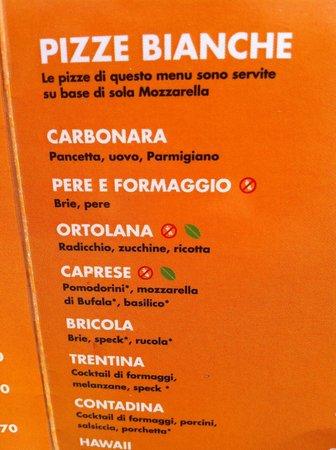 Ae Oche : Part of the menu