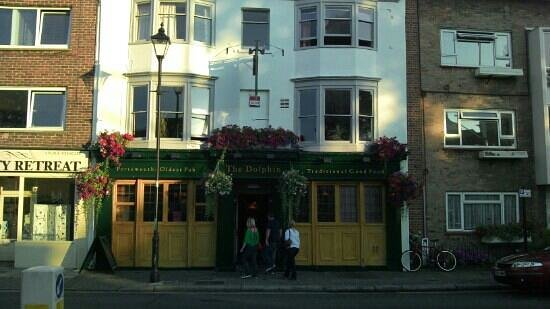 The Dolphin: new frontage.