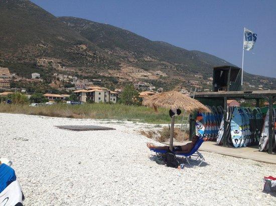Club Vassiliki : Beach and surf storage