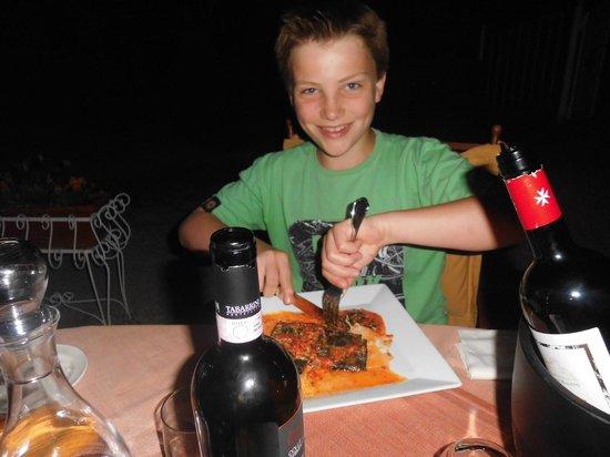 I Capricci di Merion: Zelfs de kids vinden hier super