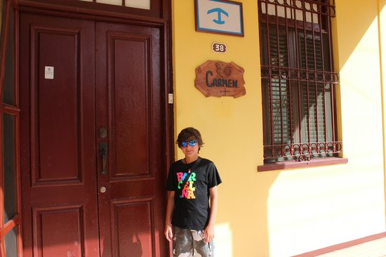 Casa Particular Carmen: Ingresso di Casa Colonial Carmen