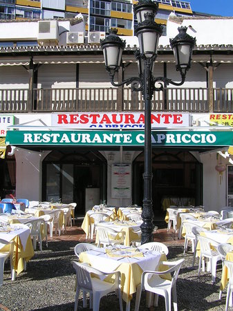Restaurante Capriccio: Front
