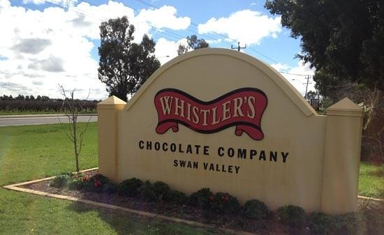 Middle Swan, Australie : Whistlers Chocolate Co.
