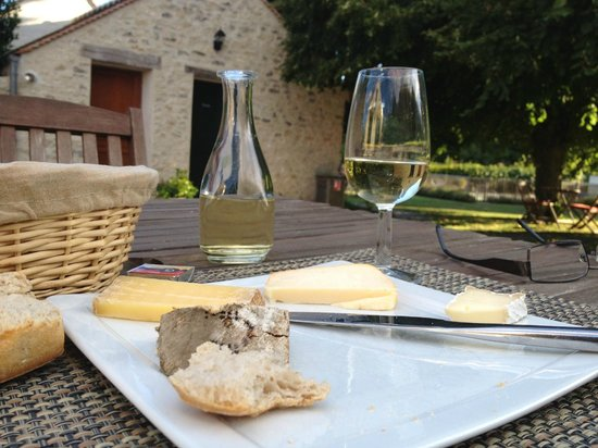 L'Aunette Cottage : Cheese plate