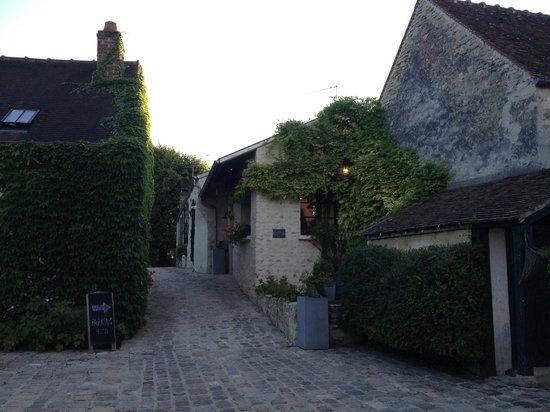 L'Aunette Cottage : Entrance to L'Aunette