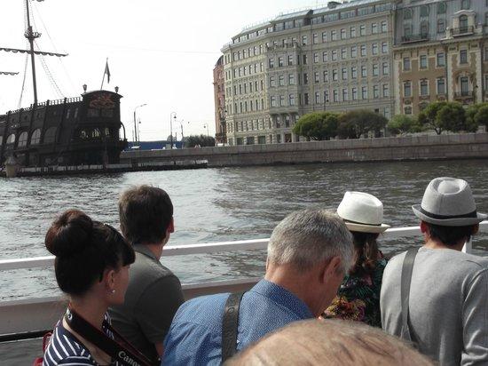 Astra Marine Boat Tours: Panorama sulla barca