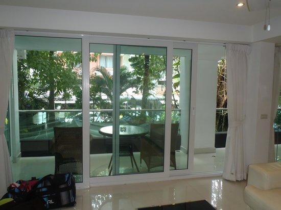 Siam Palm Residence: Balcony