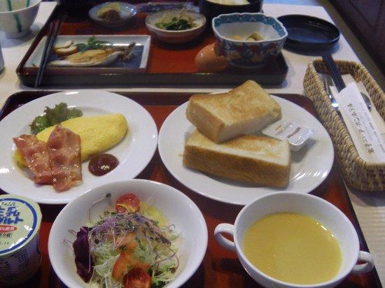 Yonago New Urban Hotel: 私が食べた洋食