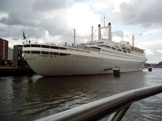 SS Rotterdam: Vue du spido