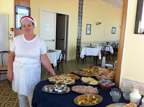 Cortesia e mangiar bene all'hotel Brenta regnano