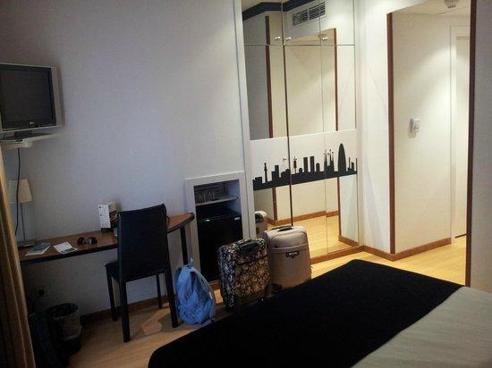 Hotel Abbot : Habitación