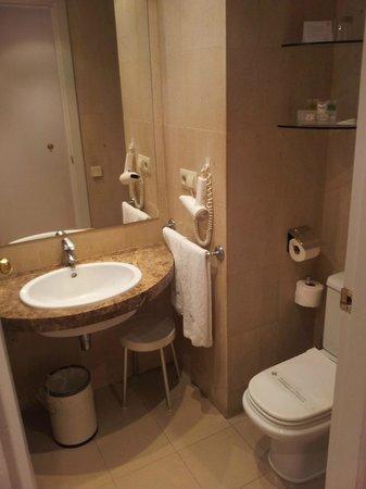 Hotel Abbot : Baño