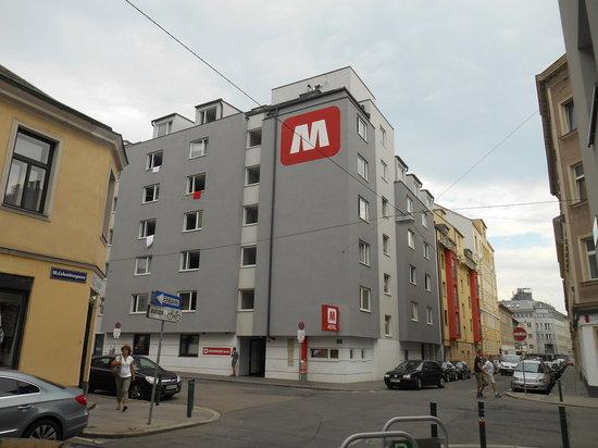 MEININGER Hotel Wien Hauptbahnhof: Aussenfassade