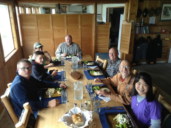 Kodiak Adventures Lodge - Larry Carroll: Shelly's cooking is the best!!!