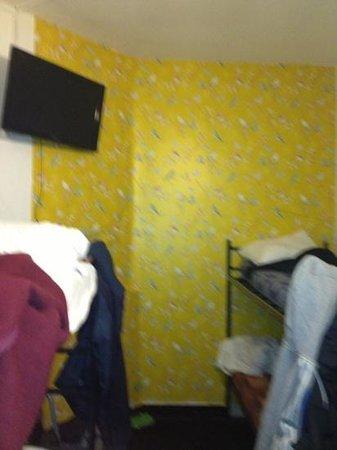 Hotel Croydon: nice wall paper