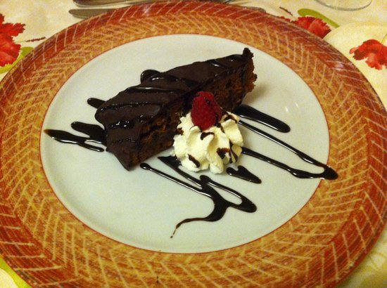 Ciasa Alpina Relax Hotel: torta sacher