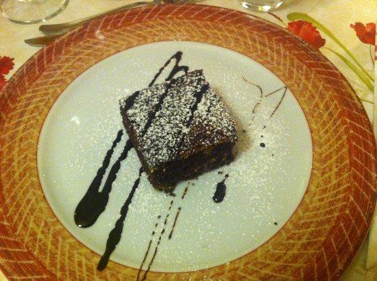 Ciasa Alpina Relax Hotel: torta buonissima